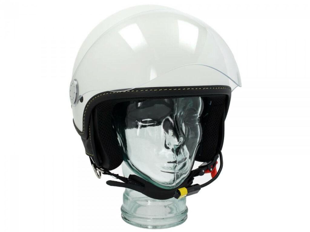 VESPA Kask Otwarty Visor 3.0 Bluetooth White